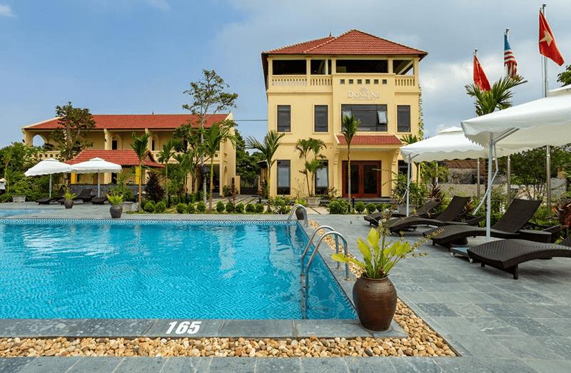 Thiết kế Dong Ne Tam Coc Hotel & Resort theo phong Việt Nam xưa