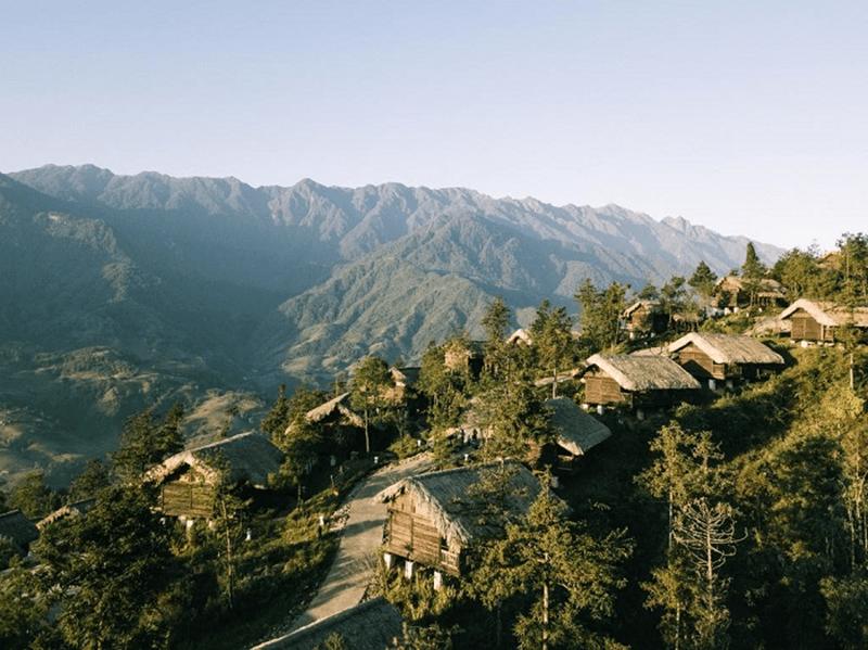 Khu nghỉ dưỡng Sapa Jade Hill Resort nằm bên sườn đồi