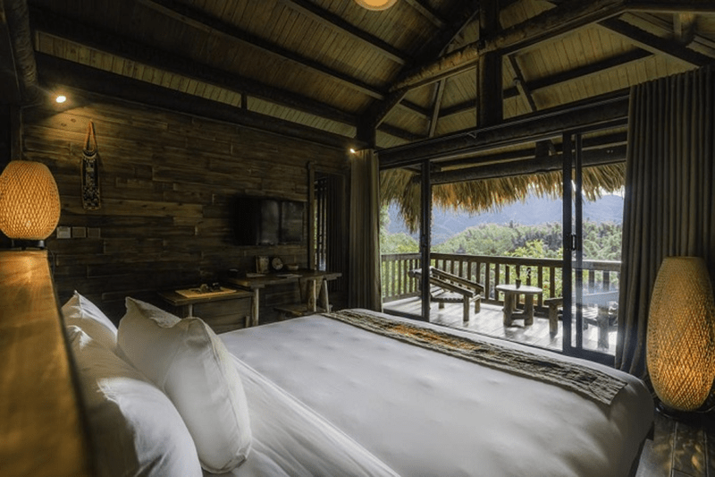 Phòng nghỉ tại Sapa Jade Hill Resort - Sapa